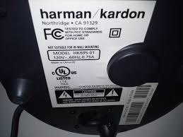 harman kardon model hk695 01. harman kardon model hk695-01 .only subwoofer is for sale | what\u0027s it worth hk695 01