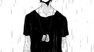 feeling alone under rain