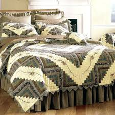 pine cone hill ruffle sheet set barn raising quilt bedding by sharp