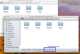 Mac Finder Easily Open A Second Finder Window From The Same Folder Os