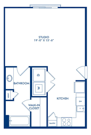 camden design district apartments. Miele Floor Plan, Studio Apartment Home With 1 Bathroom At Camden Design District Apartments In