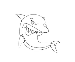 Small Picture 9Shark Coloring Pages JPG Ai Illustrator Download