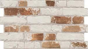 rustic masonry archaic brick effect
