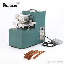 2019 v01 leather cutting machine ting machine leather ter shoe bags straight paper cutter vegetable tanned leather slicer 220v 50hz from betterpak