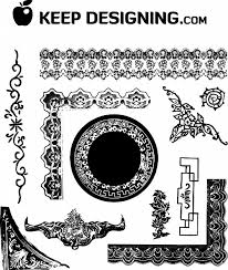 black antique picture frames. Free Vector Download Is A Collection Of Antique Frames And Ornament. Black Picture