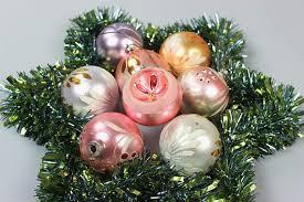 Vintage Weihnachts Kugeln Christbaumschmuck Christmas Tree