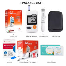 Blood Glucose Meter Compatibility With Lancets And Test Strips Chart Sannuo Yizhun Ga 3 Blood Glucose Meter Sugar Monitoring With 100pcs Test Strips Free 100pcs Needles Lancets With 100pcs Wipe Swabs Glucometer Tester