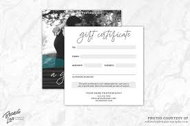 photography gift certificate template by brandi lea designs thehungryjpeg