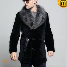 leather fur coat men cw868007 jackets cwmalls com