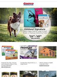 costco flea medicine. Brilliant Medicine Costo Pamper Your Pets And Save On Kirkland Signature Dog Food Pet Beds  More  Milled Inside Costco Flea Medicine U
