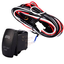 popular wiring boat trailer buy cheap wiring boat trailer lots led light bar laser rocker on off switch relay wiring harness for car motorcycle