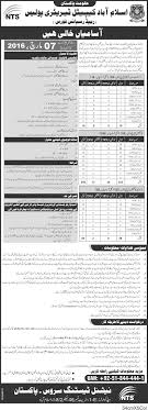 islamabad capital territory police nts jobs 2016 application forms click here