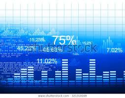 Stock Market Graphs Business Chart Stock Illustration 321310169