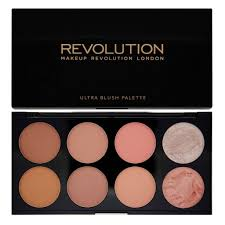 makeup revolution ultra blush palette hot e