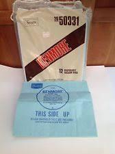 kenmore vacuum bags 50403. item 8 factory new vacuum cleaner bags canister sears kenmore 10 disposable -factory kenmore vacuum bags 50403 r