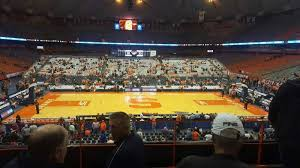 Carrier Dome Basketball Seating Chart Rows Carrier Dome Section 212 Row D Seat 110 Syracuse