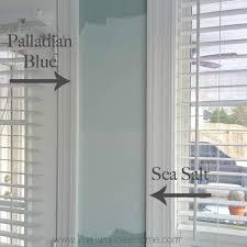 sea salt paint colorSea Salt vs Palladian Blue  Choose Paint Colors without Regrets