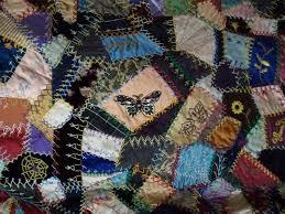 62 best Crazy Quilt Top images on Pinterest | Colors, Contemporary ... & crazy quilts in museums | Crazy Quilt Club - La Conner Quilt & Textile  Museum Adamdwight.com