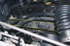 jeep 4 0l spark plug replacement getahelmet com step 2 locate the spark coil rail and remove the bolts