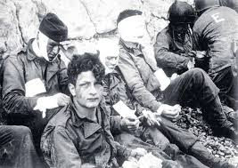 essay  for world war ii veterans  trauma lasted decades after war    men of the  th infantry regiment  injured on d day during the invasion of