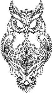 Adult Coloring Pages Owl 77266 Jpg