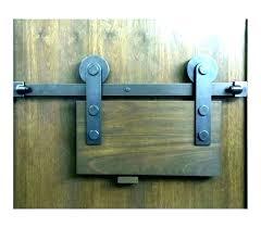 sliding barn door locking hardware latch