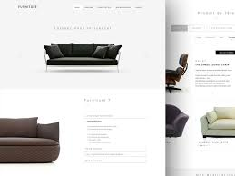 Minimalist Web Design Principles Best Practices And Examples Custom Furniture Website Design