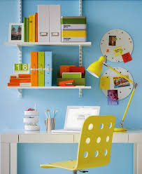 home office colorful girl. Courtesy Of Stylish Eve Home Office Colorful Girl I