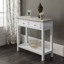 white console table with drawer. Brilliant White Bookcases Furniture White Console Table Drawers With Lower Shelf For Family  Room Home Narrow Entryway Sofa Intended Drawer