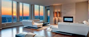 Living Room - The Bravern Penthouses, Bellevue, WA 98004