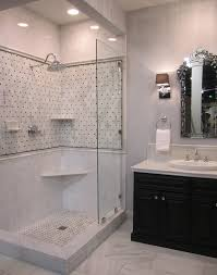 traditional bathrooms designs. traditional bathroom marble and ceramic shower surround black white vanity bathrooms designs