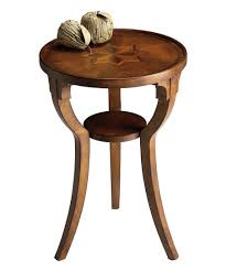 Cherry accent table Furniture Share Zulily Round Cherry Accent Table Zulily