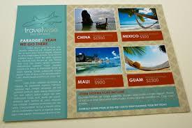 Travel Agency Flyer Template Inkd