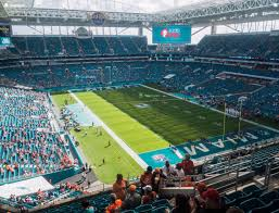 Miami Dolphins Hard Rock Stadium Seating Chart Hard Rock Stadium Section 308 Seat Views Seatgeek