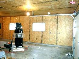 cost to finish garage drywall finish cost how much does it to garage ceiling org