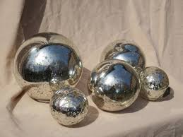 Mercury Glass Decorative Balls