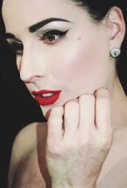 dita von teese dita von teese pinup makeup tutorial