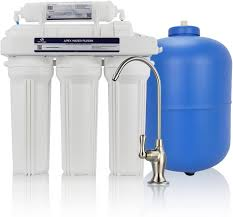 MR-5100 5 Stage Reverse Osmosis Drinking Water System - Made in U.S.A.