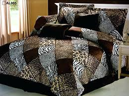 animal bed sheets animal print bedding sets modern bed linen with duvet cover plans 7