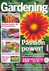 garden magazine. Delighful Magazine Amateur Gardening Magazine  In Garden Magazine N