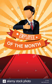 Employee Of The Month Photo Frame A Vector Illustration Of Employee Of The Month Poster Frame Design