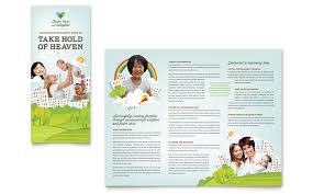 Word Flyer Template Foster Care Brochure Template Free