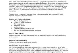 Phlebotomy Resume Examples Gorgeous Phlebotomist Resume Objective Resume Examples Resume Examples Entry