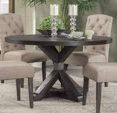 alpine furniture newberry round dining table in salvaged grey 1468 25