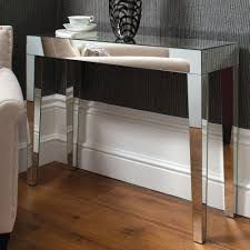buy gallery direct geo mirrored console table online  cfs uk