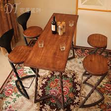 american country retro wood wrought iron coffee bar multifunction table dinette dinette antique deskchina american country wrought iron vintage desk