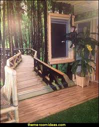 jungle theme bedrooms a foot path in the forest mural room