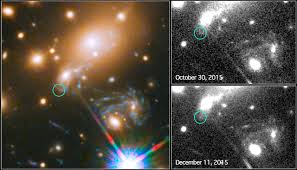 what is a supernova or why stars explode creating the universe this image composite shows the search for the supernova nick d refsdal using the nasa