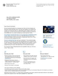 activate your eip visa debit card now