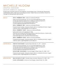 Simple Resumes Templates Custom Simple Resume Templates [48 Examples Free Download]